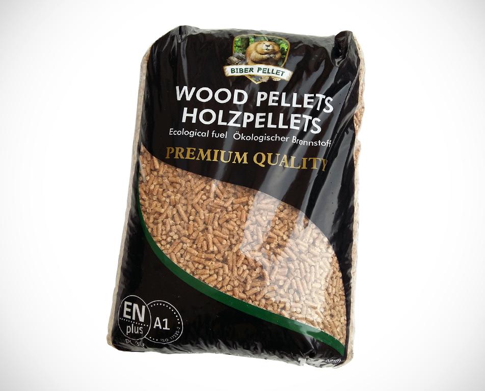 Biber premium houtpellets