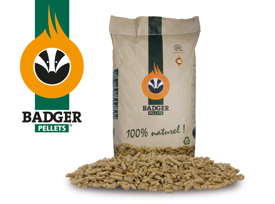 Badger pellets